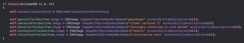 Screenshot of Xcode  24 09 2020 08 48 22